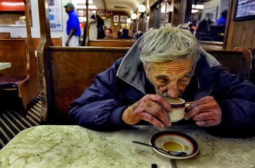 Group Of Women Sitting Around Table Eating Dessert Stock ... |Old People Sitting Around Drinking