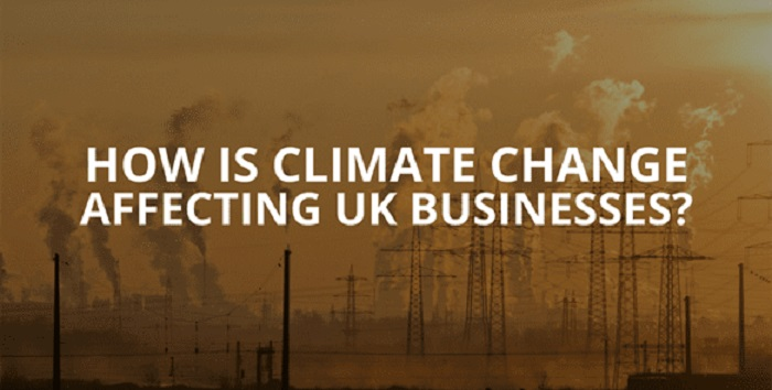climate change affect uk businesses united kingdom economy global warming