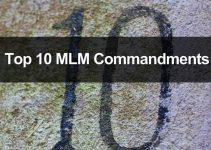 The 10 Commandments of MLM Success