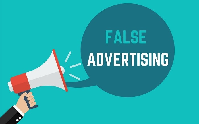 what is false advertising misleading ads inaccurate marketing commercial lies