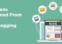 business lessons learned from blogging tips blogger wisdom