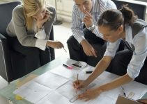 work with architect design meeting