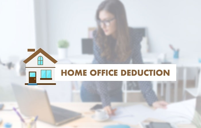 how to get home office deduction business taxes write-off