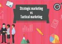 strategic marketing vs tactical marketing strategy versus tactics advertising