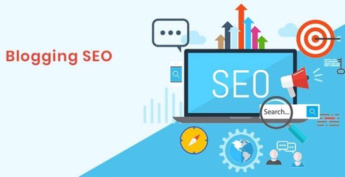 using seo in blog writing attract customers rank keywords google blogger search engine optimization