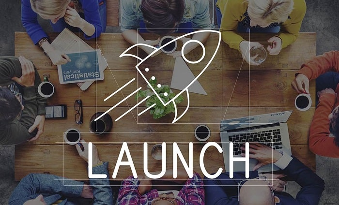 how to launch startup get new business of the ground build company