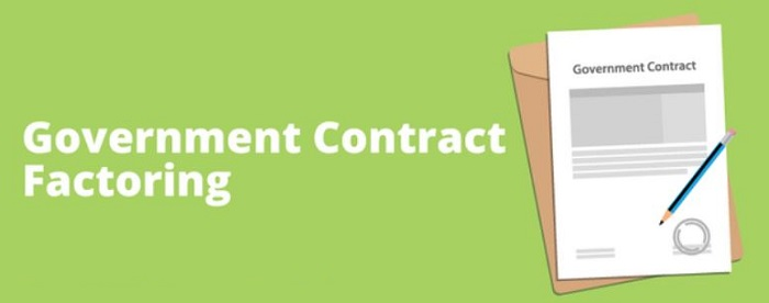 government contract factoring federal project funding