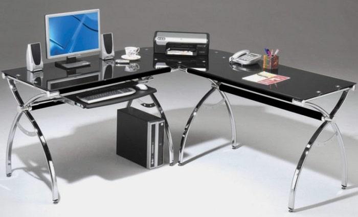 different types of office desks remote worker desktop design options