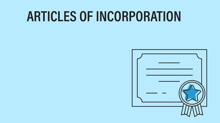 what is an article of incorporation business registration company filing paperwork